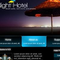 Night Hotel dizainas